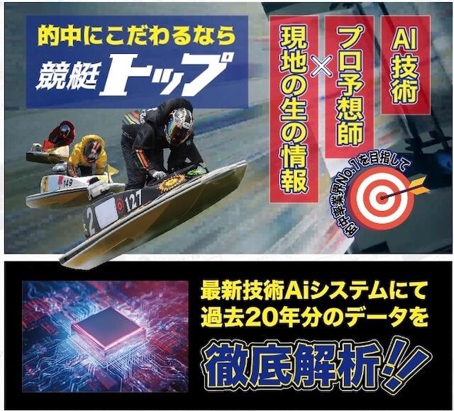 競艇トップのトップページ画像